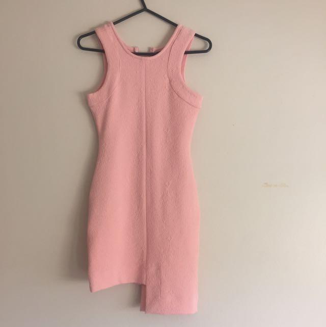 Zeitgeist Peach Dress