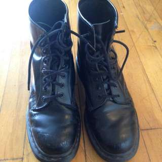 All-Black Doc Martens