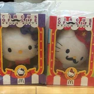 🚚 麥當勞Hello Kitty魔術師_馴獸師系列(2入1組)