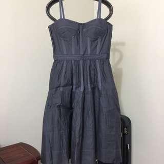 CLUB MONACO TESS BUSTIER DRESS SIZE 2