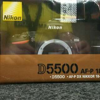 nikon d5500 brand new authorized dealer