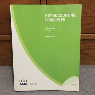Key Accounting Principles