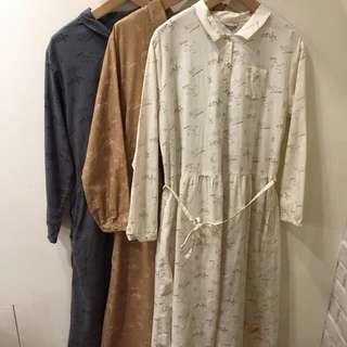 Sm2灰色棉質洋裝
