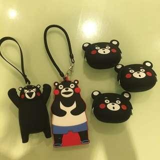 熊本熊零錢包、證件套✨