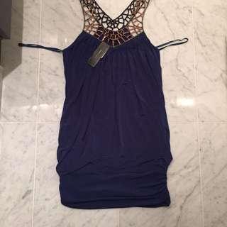 Size M Royal Blue BCBG Knit Dress