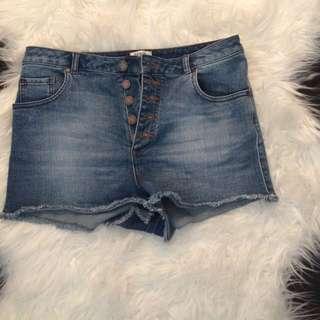 Misselfidges Denim High Waisted Shorts