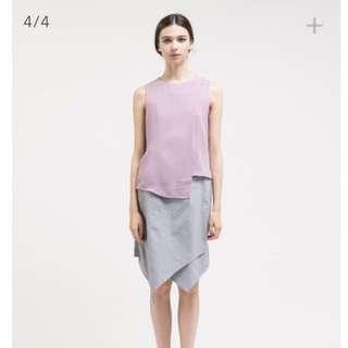 [NEW] Ats The Label Anara Grey Skirt