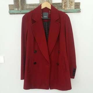 Wool Coat- MARCS