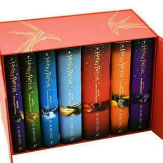 💧 Harry Potter: The Complete Collection Deluxe Edition Hardcover Box Set [PO]