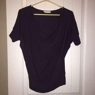 Dark purple Ricki's t shirt