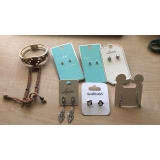 Earrings/ Bracelets