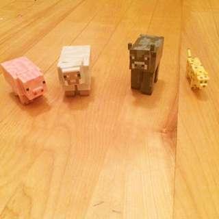 Minecraft Animal Toys