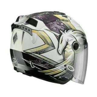 SOL 27s安全帽 獨角獸三代 白紫