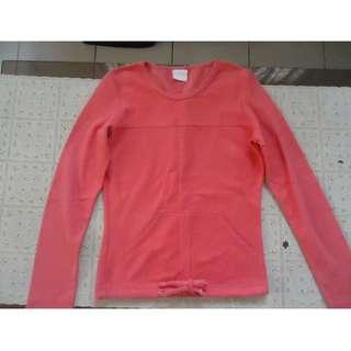 Pre-loved Salmon colored Sweatshirt