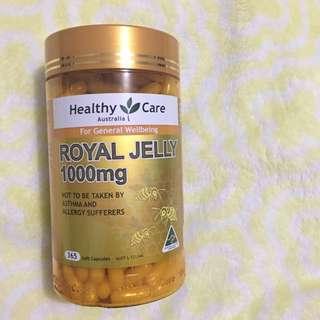 澳洲/Healthy Care 蜂王乳膠囊