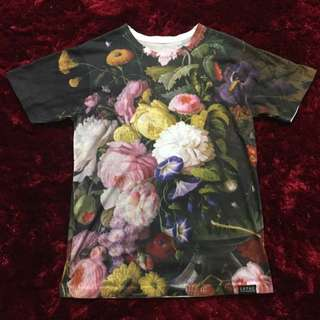 Floral T-Shirt (Size Small - Medium)