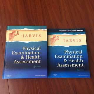 Jarvis Physical Examination And Health Assessment 6th Edition- Anatomy Physiology Textbook And Manual For Medical Science Nursing Doctors Book