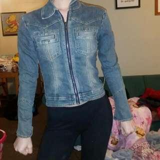 Denim Jacket, Skirt, Crop, Shorts