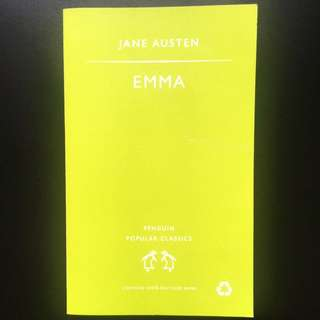 EMMA - Jane Austen (Classic novel)