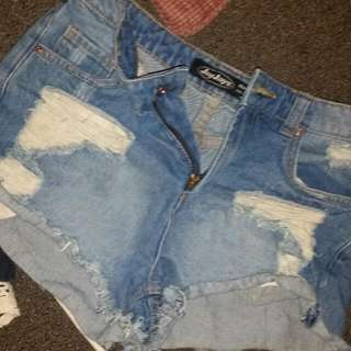Size 12 Ripped Shorts