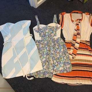FREE POST BULK BUY DRESSES 6-8