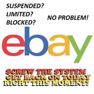 eBay Stealth Accounts / PayPal Stealth Accounts [U.S.-Based and ready to sell] - Beat eBay Suspension Limits Block (Get back on eBay)