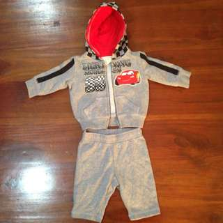 Cars Tracksuit Outfit Size 0000