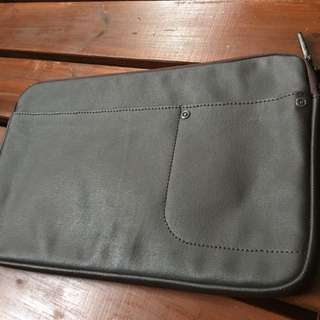 Sweetch Brown MacBook Air 11inch Cover With Phone & Cable Compartments