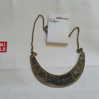F21 Gold Necklace