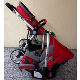 Sweet Cherry SCR6 Stroller with FREE ITEM SCR7