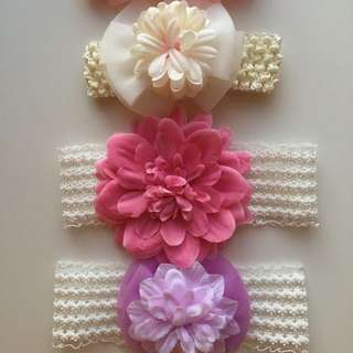 New Born Baby Headbands Photo
