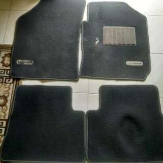Car mat fabric carpet Hyundai Getz 4 piece set