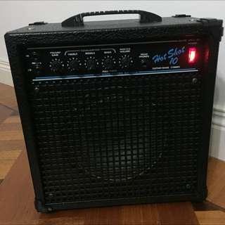 Hot Shot 10 Guitar and Bass Amplifier