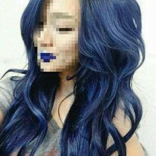 Hair Dye Coloring Powder (Blue)