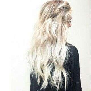 Hair Dye Coloring Powder (White)