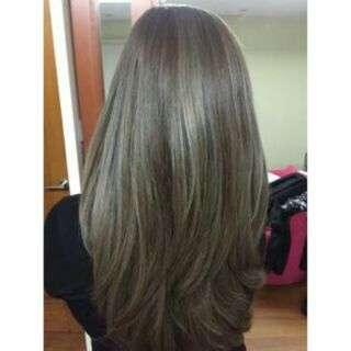 Hair Dye Coloring Powder (Flaxen/Ash Brown)