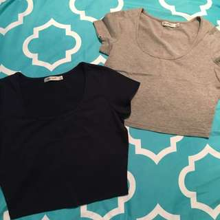 Tshirt Crop Tops