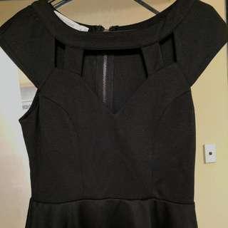 Black Dress Top