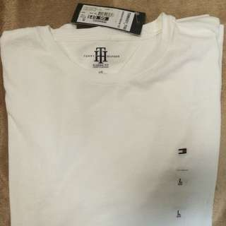 TOMMY HILFIGER TEE WHITE