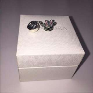 Genuine Pandora Charm Minnie Ears