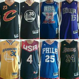 NBA Jerseys (any team)