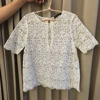 Zara Flower Top