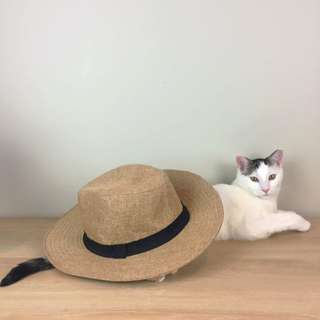 Straw Brim Hat