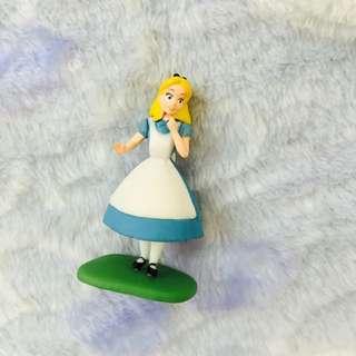 迪士尼 愛麗絲夢遊仙境 絕版 巧克力蛋公仔