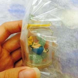 迪士尼 re-ment盒玩 愛麗絲夢遊仙境 眼淚瓶吊飾 公仔