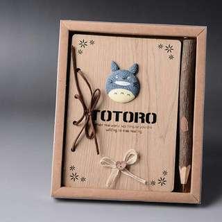 龍貓筆記本 木質筆記本 精美包裝