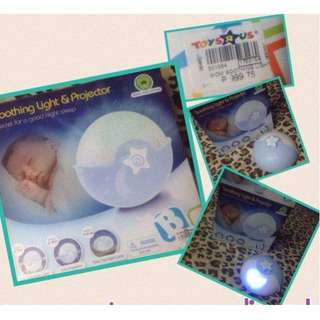 Baby Soothing and Light projector