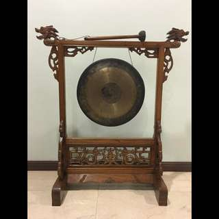 N003 - Antique Suspended Gong (Chinese Chau Gong / Tam-tam)