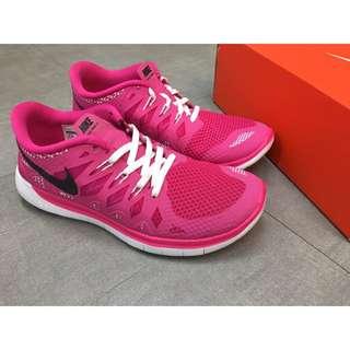 Nike Free 5.0 女生運動慢跑鞋