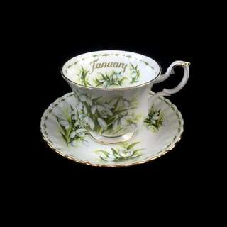 💋 ROYAL ALBERT FLOWER OF THE MONTH SERIES CUP AND SAUCER ✉Viber 0936-457-0139 💸 BDO/LBC/CEBUANA 📅 2-3 days reservation 🚢 XEND